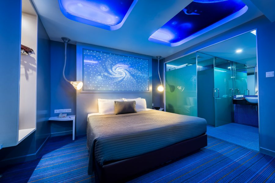 hotel maison boutique theme room Space Odyssey