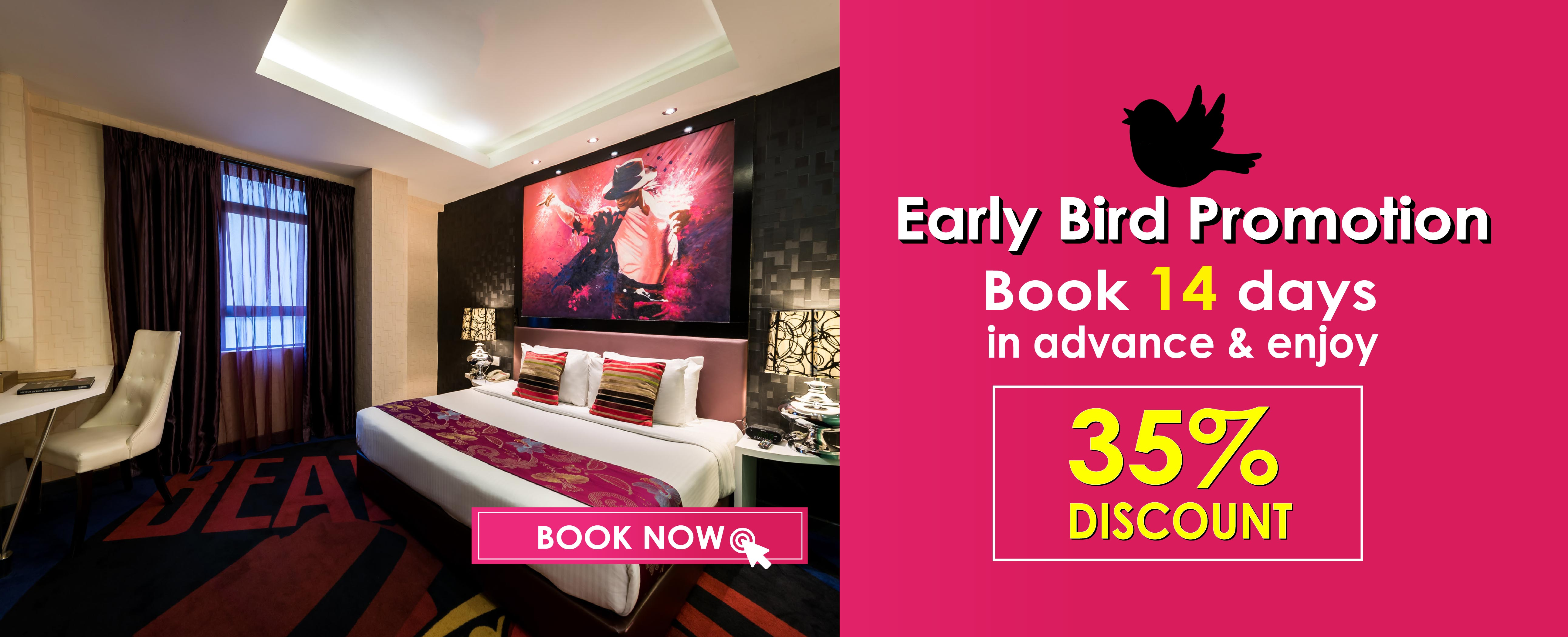 Hotel Maison Boutique Early Bird Promotion