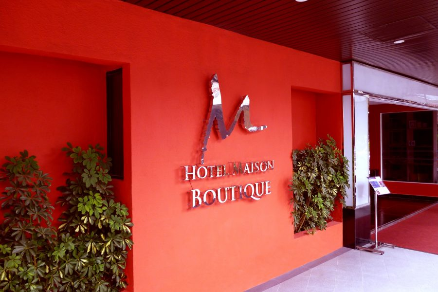 Entrance Hotel Maison Boutique