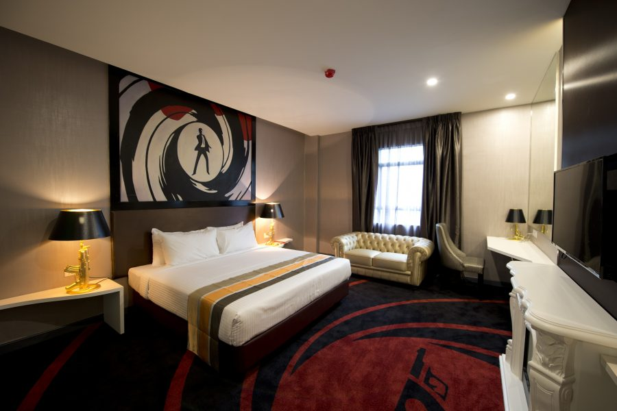 James Bond Suite Hotel Maison Boutique