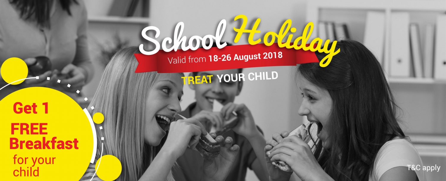 Hotel Maison Boutique School Holiday Promotion